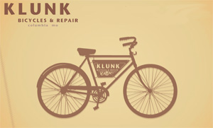 KLUNK Cycles home page