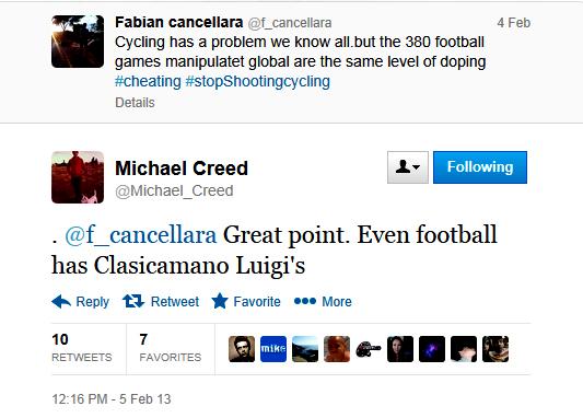 creed tweet