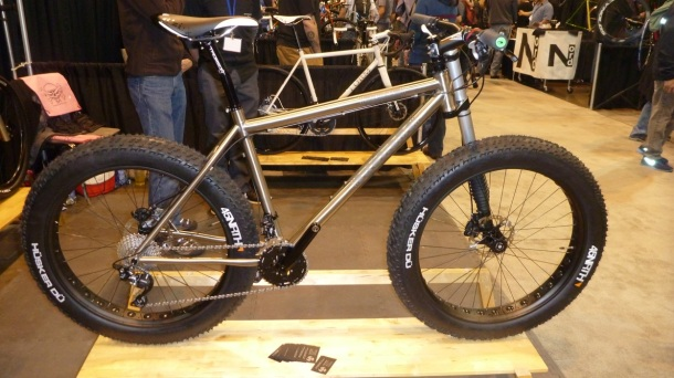 Custom Ti Fat Bike